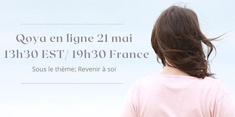 Qoya avec Brigitte- 21 mai à 13h30 EST/ 19h30 France ingressos