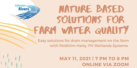 Nature Based Solutions for Farm Water Quality tickets