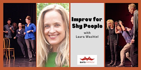 Online: Improv for Shy People with Laura Wachtel tickets