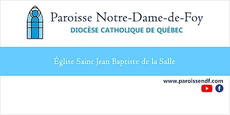 Messe Église St-Jean-Baptiste de la Salle - Mardi - 16 h 30 billets
