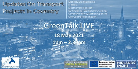 Sustainable transport projects in Coventry tickets