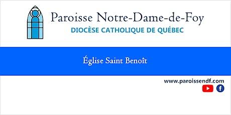 Messe Église Saint-Benoît - Samedi - 16 h 30 billets