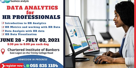 Data Analytics for HR Professionals (GHC1,500.00) tickets