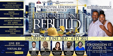 The KAC Exponential Leadership Conference 2021 tickets