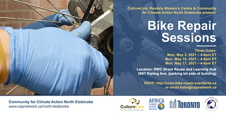 North Etobicoke Free Bike Repair Sessions tickets