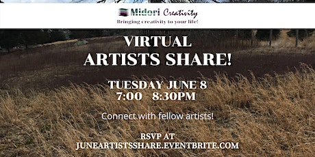 June Artists Share! tickets