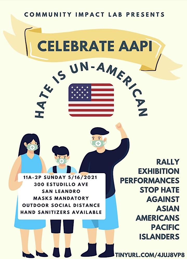 Celebrate AAPI & StopAAPIHate Rally image