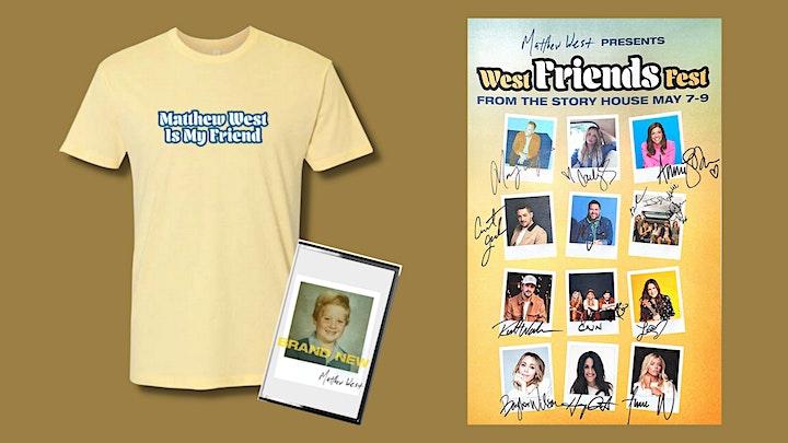 Matthew West presents West Friends Fest | 7pm ET/6pm CT/5pm MT/4pm PT image