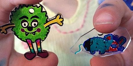 DIY Shrink Art Charms tickets