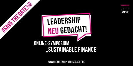 "Online-Symposium  ""Sustainable Finance"" tickets"
