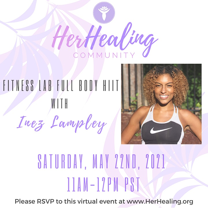 HerHealing Community: Lampley Fitness Lab Full Body HIIT with Inez Lampley image