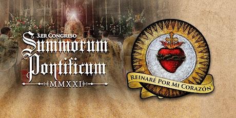 3er. Congreso Summorum Pontificum 2021 entradas