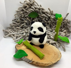Needle Felted Panda Bear Workshop tickets