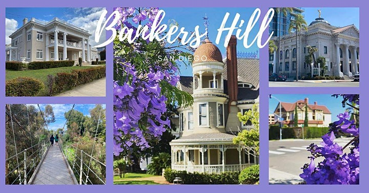 Blossoms, Bridges, & Beautiful Mansions of Bankers Hill image