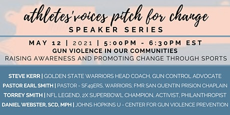Athletes' Voices | Pitch for Change | GUN VIOLENCE + SPORTS FOR CHANGE | S8 tickets