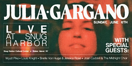 Julia Gargano Live at Snug Harbor (With Special Guests!) tickets
