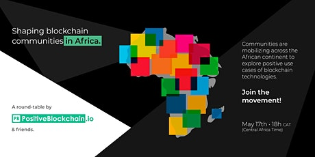 Shaping blockchain communities in Africa tickets