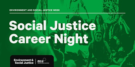 Social Justice Careers Night tickets