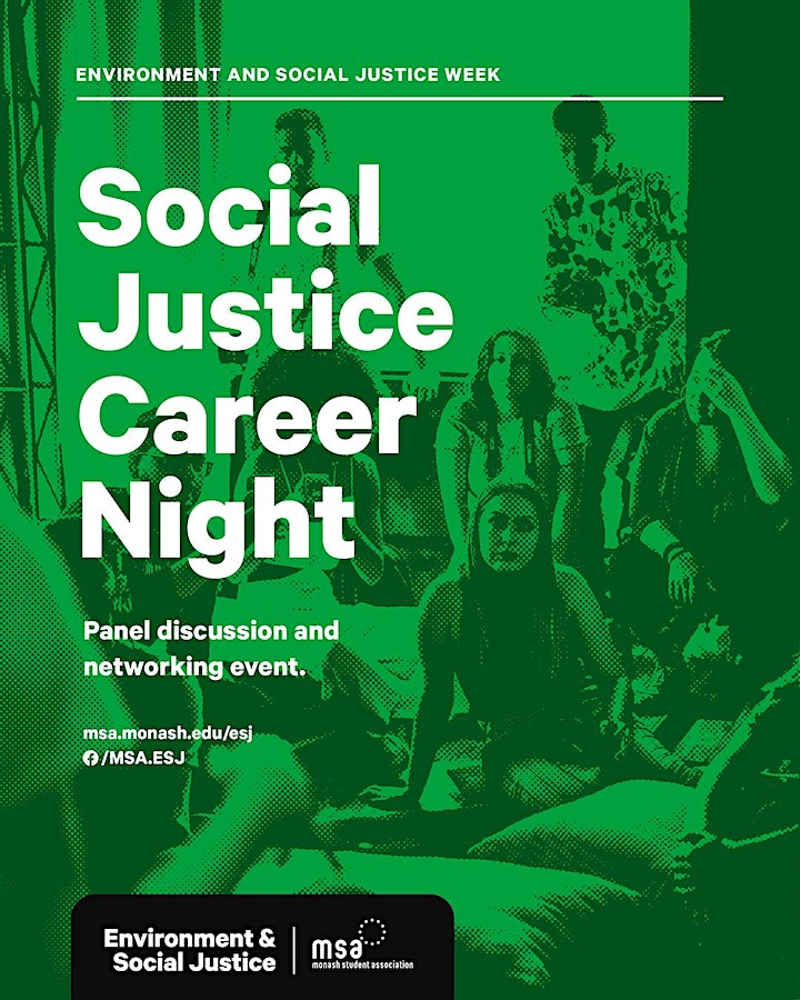 Social Justice Careers Night image