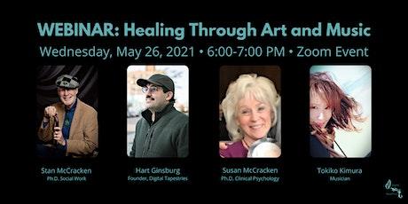 WEBINAR: Healing Through Art and Music: Reset tickets