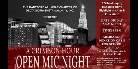 Crimson Hour: Open Mic Night tickets