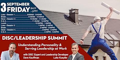 DISC/ Leadership Summit tickets