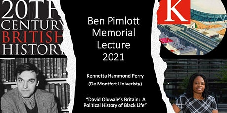 TCBH Ben Pimlott Memorial Lecture 2021: Kennetta Hammond Perry tickets