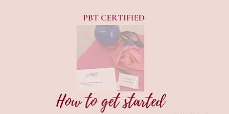 How to Organize Your PBT Ballet Class - A Seminar for Certified Teachers tickets