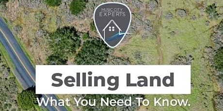 What You Need To Know About Selling Land tickets
