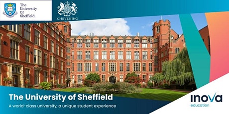 Atención Bolivia, Chile y Perú: estudia en la Universidad de Sheffield tickets