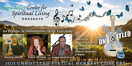 2nd annual UNBOTTLED Virtual  Benefit Concert tickets