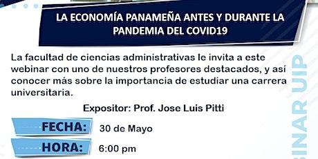 LA ECONOMÍA PANAMEÑA ANTES Y DURANTE LA PANDEMIA DEL COVID19 bilhetes