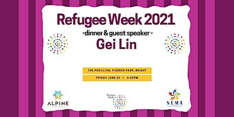 Refugee Week Dinner & Guest Speaker tickets