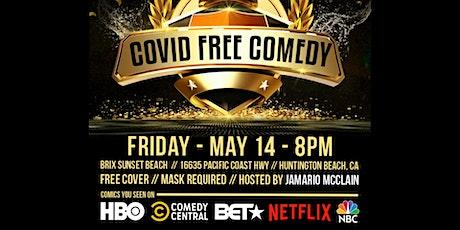 Covid Free Comedy tickets
