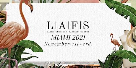Latin American Fashion Summit 2021 tickets
