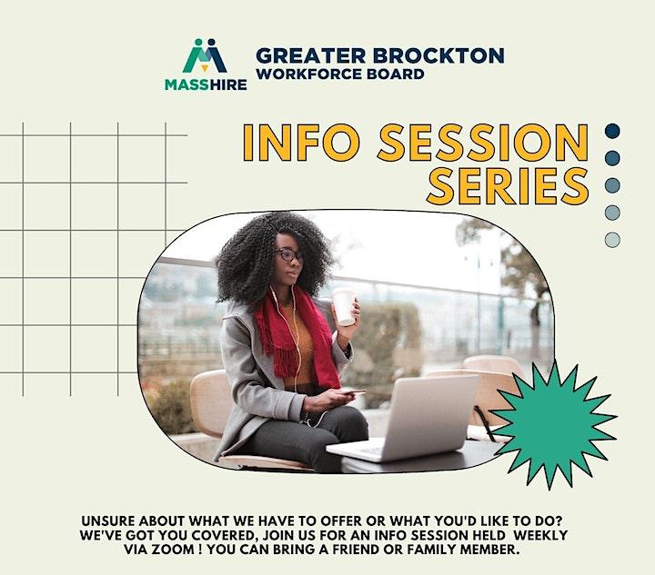 MassHire Greater Brockton YouthWorks Informational Session image