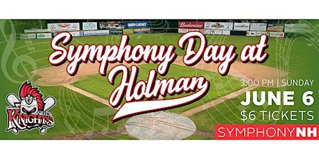 Symphony Day at Holman Stadium tickets