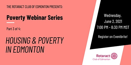 Housing and Poverty in Edmonton tickets