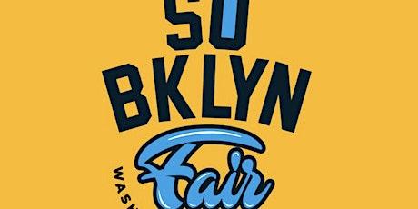 So BKLYN fair wash off tickets