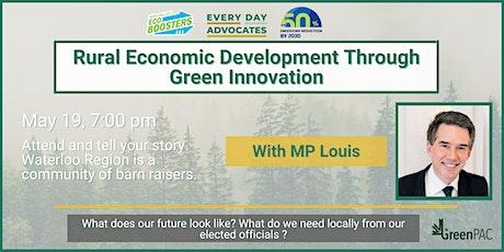 Environmental Townhall: Rural Economic Growth Through Green Innovation entradas