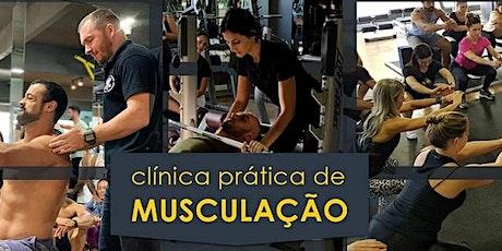 Clínica Prática de Musculação 2021 ingressos