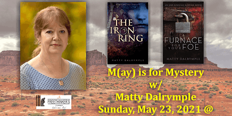 M(ay) is for Mystery w/ Matty Dalrymple tickets