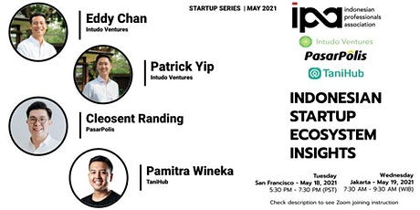 Startup Series with Intudo Ventures, PasarPolis, and TaniHub (IPA) tickets
