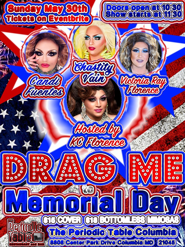 Drag me to Memorial Day @ Periodic Table image