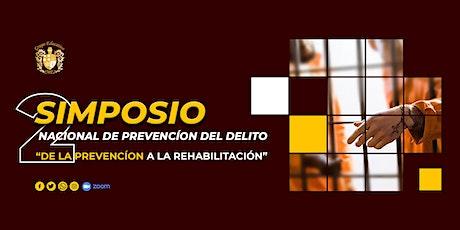 2do Simposio Nacional de Prevención del Delito boletos