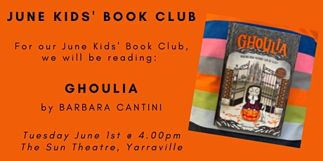 June Kids' Book Club - GHOULIA tickets