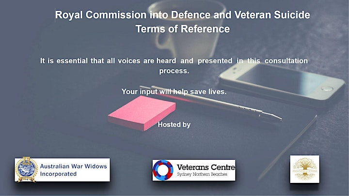 Royal Commission into Defence and Veterans Suicide  - Terms of Reference image
