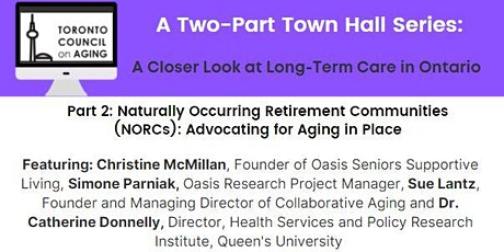 Town Hall Series: Naturally Occurring Retirement Communities (NORCs) tickets