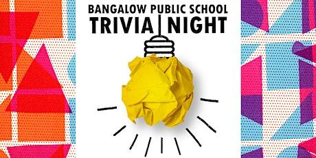 Bangalow Public School P&C Trivia Night tickets