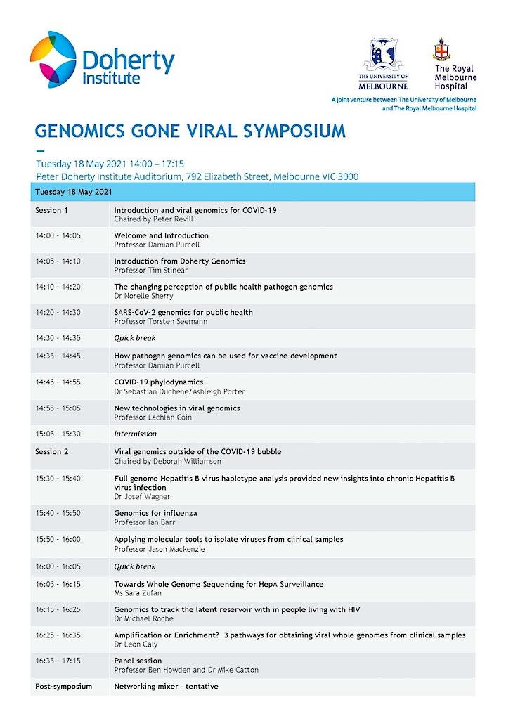 Genomics Goes Viral - PDI Auditorium image